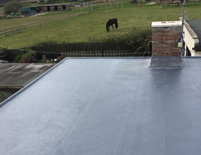 Installing flat roofs on both domestic and commercial properties