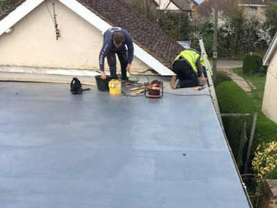Flat roof repair in Canterbury